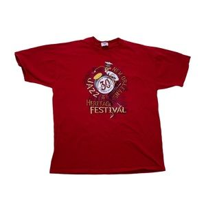 Vintage 1999 New Orleans Jazz Fest t shirt